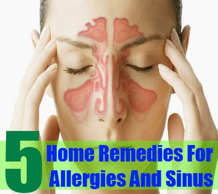5 Best Home Remedies For Allergies And Sinus