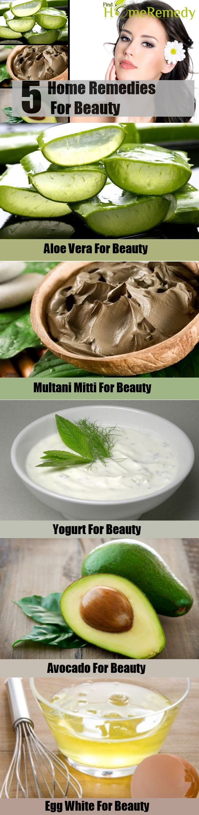 5 Home Remedies For Beauty