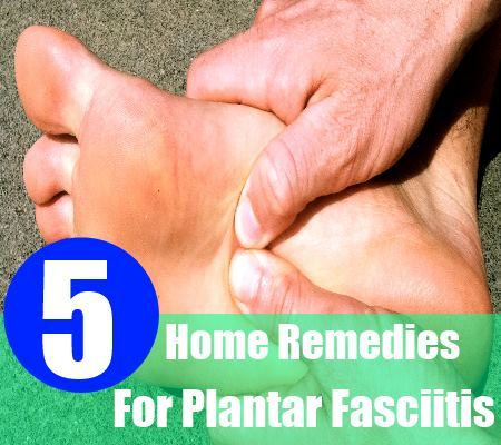 5 Simple Home Remedies For Plantar Fasciitis