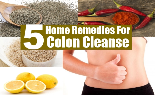 Remedies For Colon Cleanse