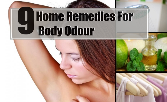 Remedies For Body Odour