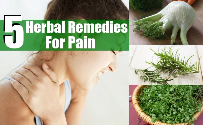 Remedies For Pain