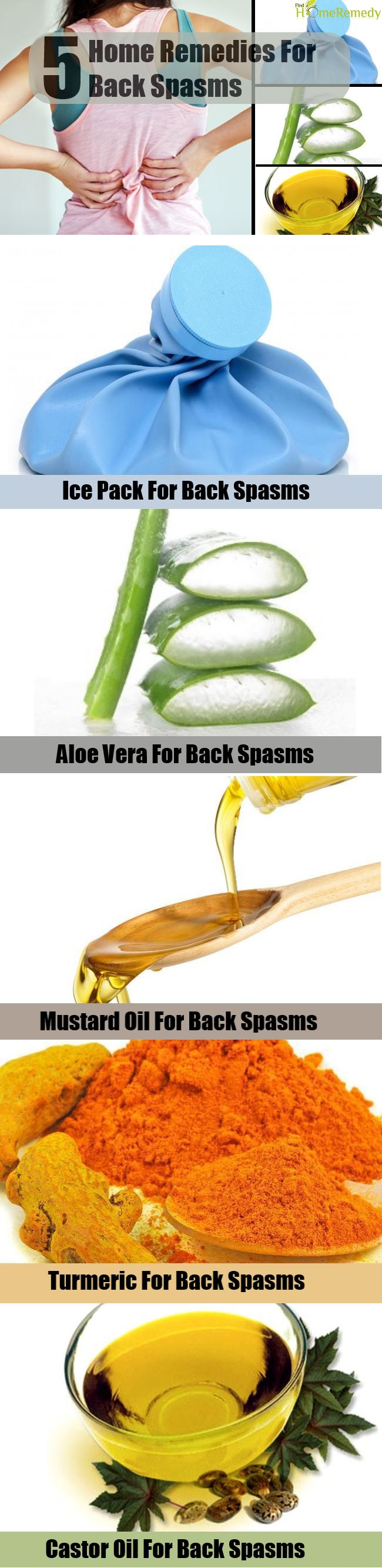 5 Home Remedies For Back Spasms