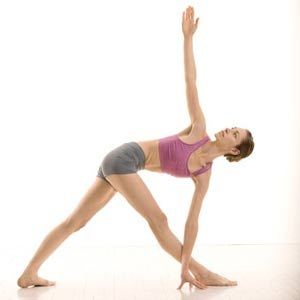 Rotated Triangle Pose
