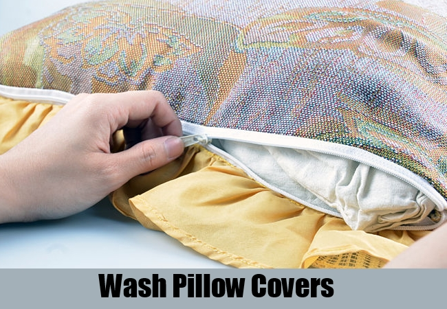 Wash Pillow covers