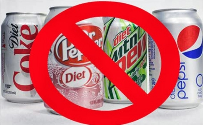 Avoiding Carbonated Drinks