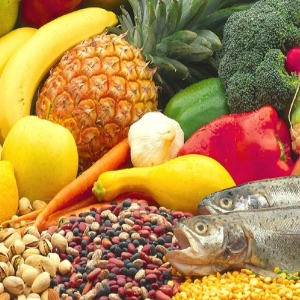 Fruits, Veggies And Fish