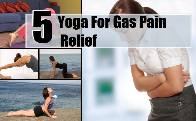 Yoga For Gas Pain Relief