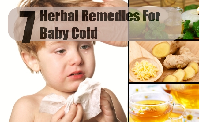 Remedies For Baby Cold