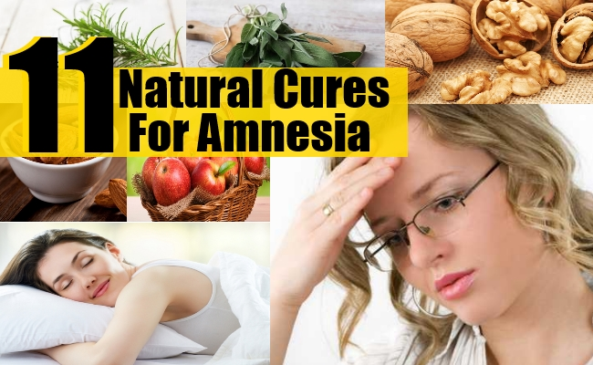Natural Cures For Amnesia