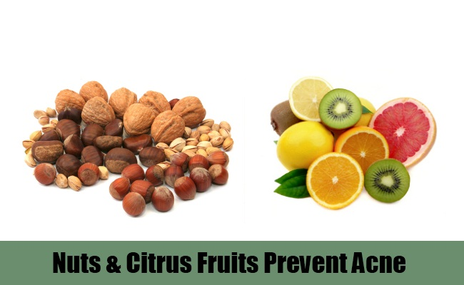 Nuts And Citrus Fruits