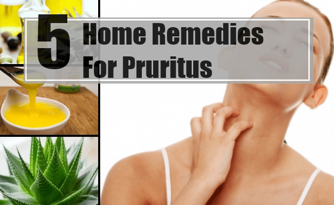 Remedies For Pruritus