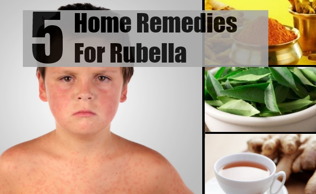 Remedies For Rubella
