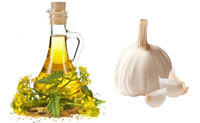 Mustard Oil And Garlic