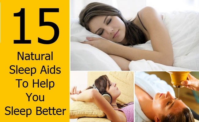 Natural Sleep Aids To Help You Sleep Better