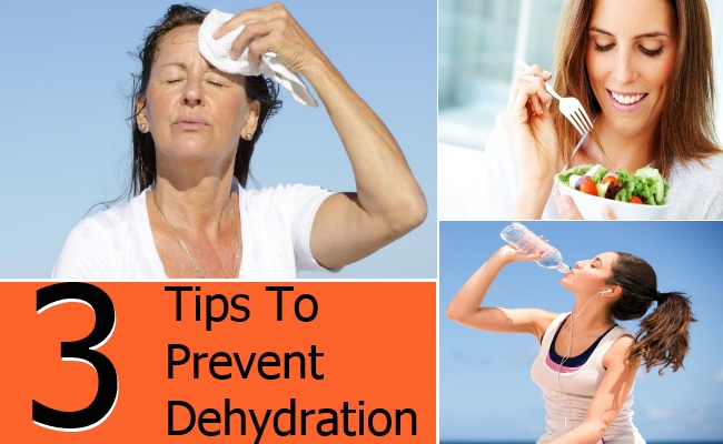 Tips To Prevent Dehydration
