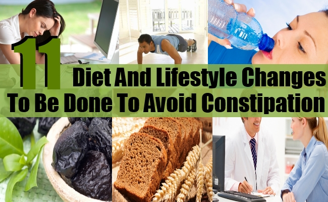 Diet And Lifestyle Changes