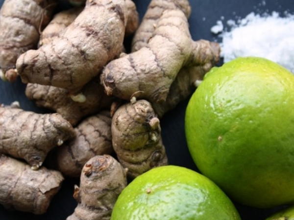 Lime Juice and Turmeric