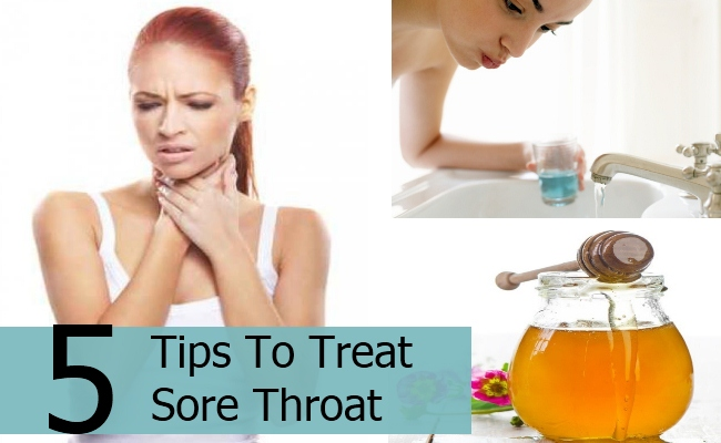 Tips To Treat Sore Throat