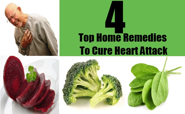 4 Top Home Remedies To Cure Heart Attack