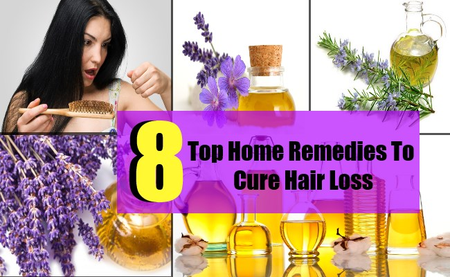 8 Top Home Remedies To Cure Hair Loss