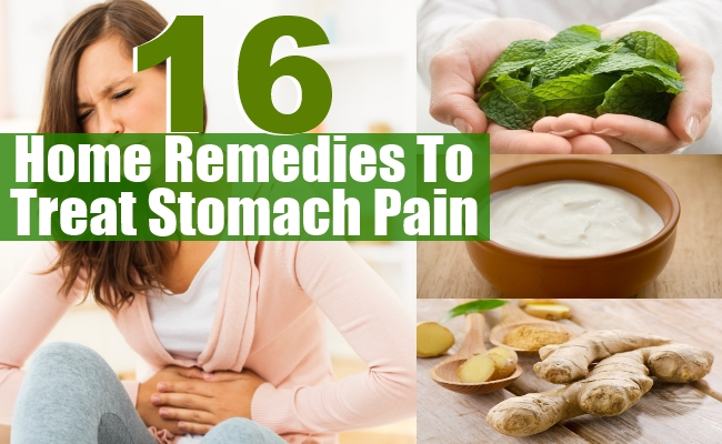 Remedies To Treat Stomach Pain