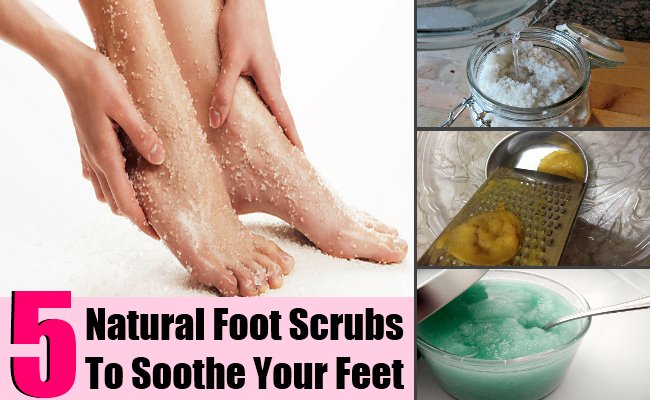 5 Natural Foot Scrubs To Soothe Your Feet