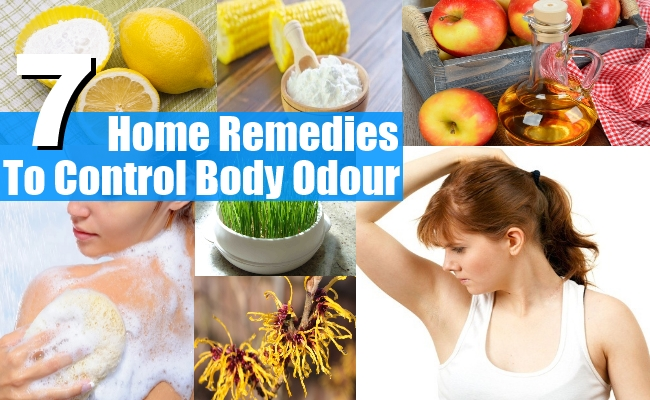 Remedies To Control Body Odour