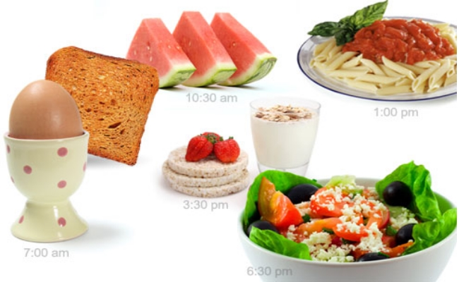 Start Taking Small And Frequent Meals
