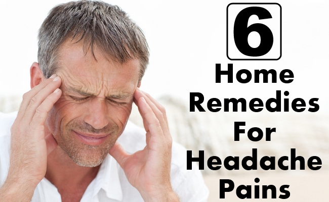 Home Remedies For Headache Pains