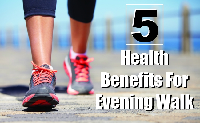 Health Benefits For Evening Walk