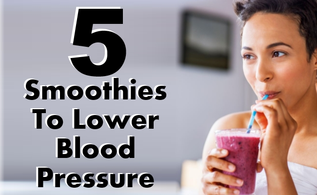 Smoothies To Lower Blood Pressure