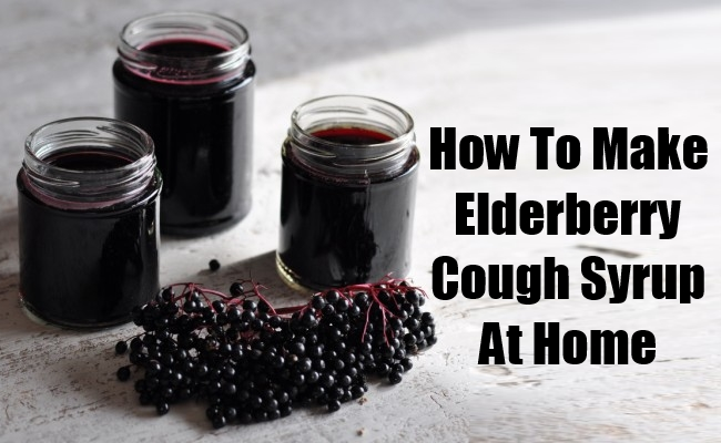 Elderberry Cough Syrup At Home
