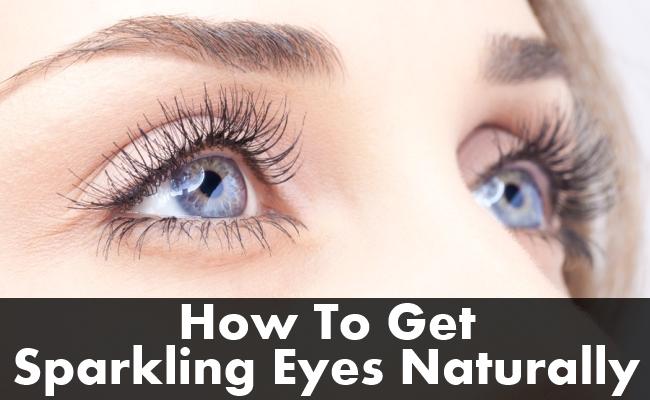 Get Sparkling Eyes Naturally
