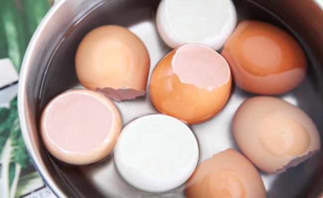 Procedure to make eggshell tonic