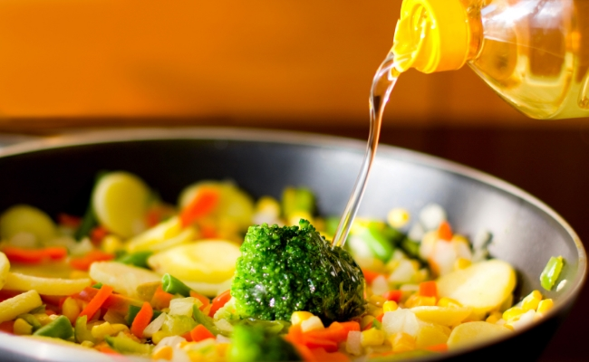 Use Cooking Oils with Fats