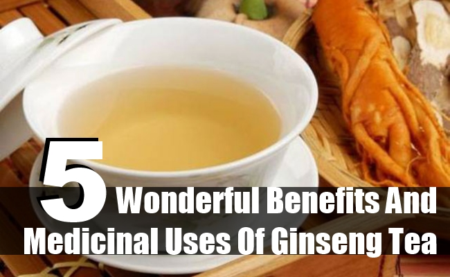 Benefits And Medicinal Uses Of Ginseng Tea