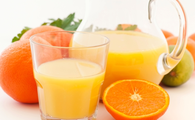 Vitamin C goodness juice
