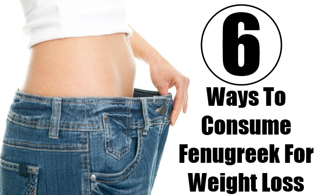 Ways To Consume Fenugreek For Weight Loss