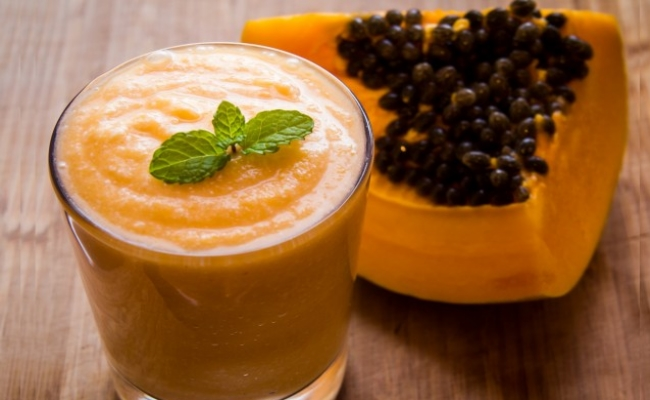 Papaya Coconut Drink