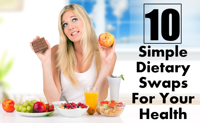 Simple Dietary Swaps For Your Health