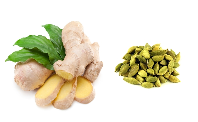 Cardamom With Ginger