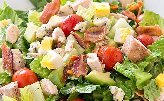 Cobb Salad with Turkey
