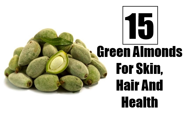 Green Almonds For Skin, Hair And Health