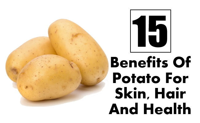 Potato For Skin, Hair And Health