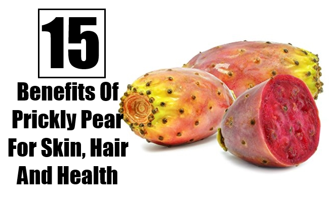 Prickly Pear For Skin, Hair And Health