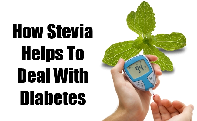 Stevia Helps To Deal With Diabetes