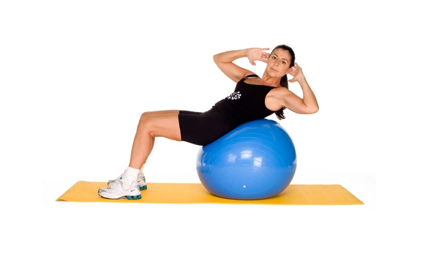 Balancing Oblique Crunch