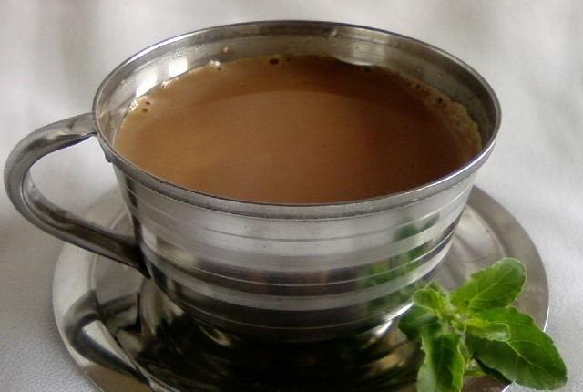Use Holy Basil Tea