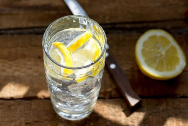 Lemon And Chilled Water